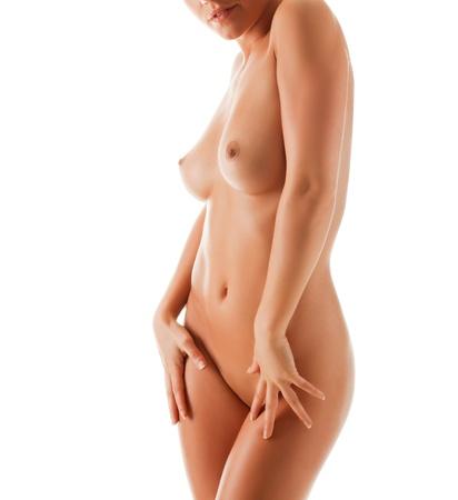 corps femme nue: Jeune femme belle nue