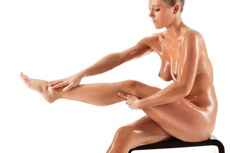naked women body: Young beautiful naked woman