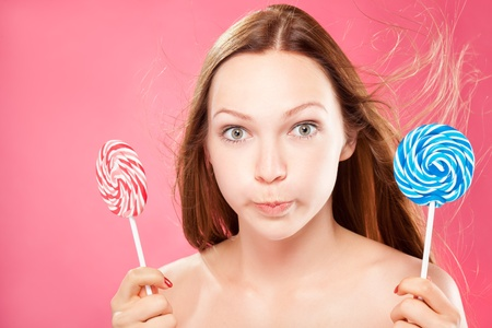 Girl with lollipop Stock Photo - 11191801