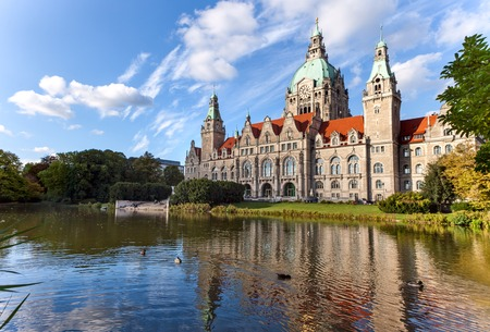 Hanover city-hall, Hannover Neues Rathaus photo