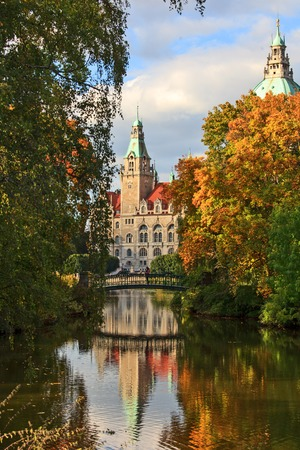 Hanover city-hall, Hannover Neues Rathaus photo
