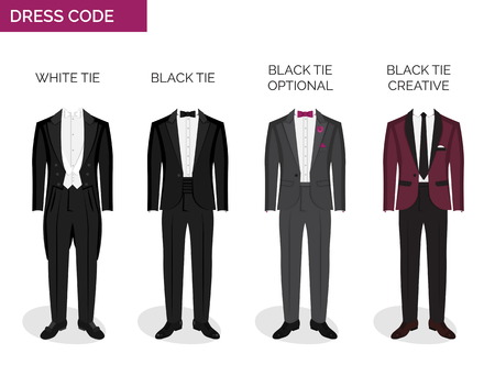 Formal Dress Code Guide Information Chart For Men Suitable Outfits