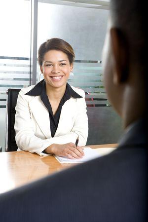 사업가 사업가와 회의