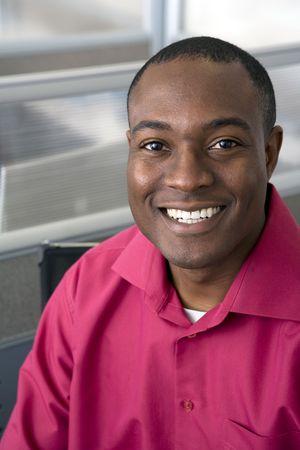 Portrait of businessman photo