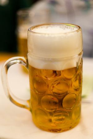 Oktoberfest tankard beer photo