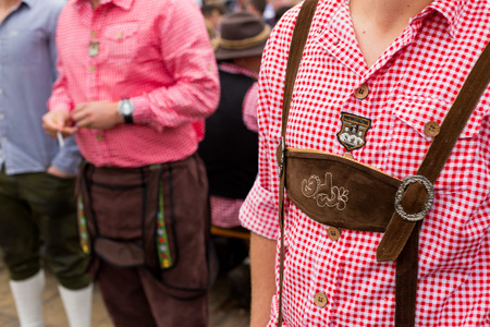 german ethnicity: Oktoberfest. traditional clothes