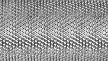 corrugated: Metallic corrugated handle