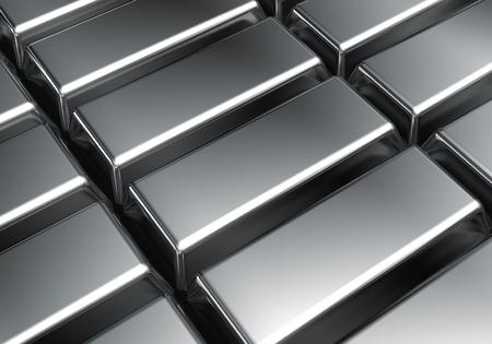 platinum: Platinum bars background