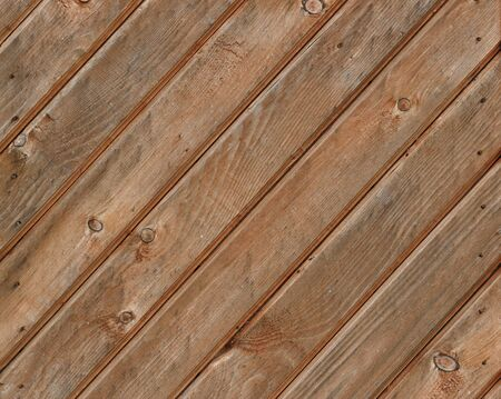 Diagonal wooden planks background. Decorative wood surface.