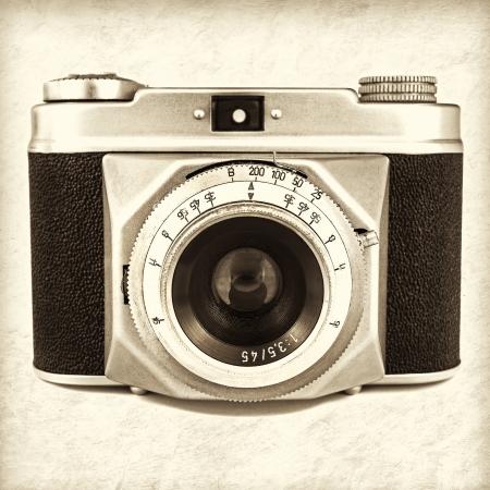 Retro gestileerde camera