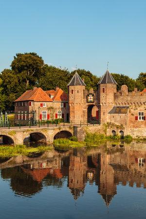 The Koppelpoort, entrance of the Dutch historic city center of Amersfoort