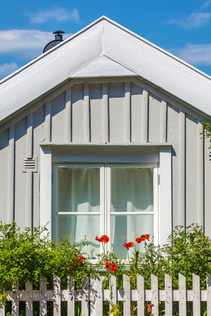 petites fleurs: Small ancient woorden house in the Swedish city of Karlskrona