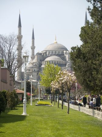 The blue mosque, the  most popular Mosque of estambul Stock Photo - 2246958
