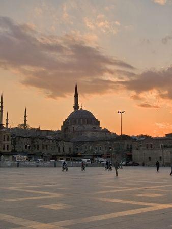 Mosques cross-light Stock Photo - 2246929