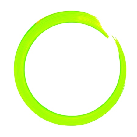 Colorful Circle Paint Line Stock Photo - 13530454