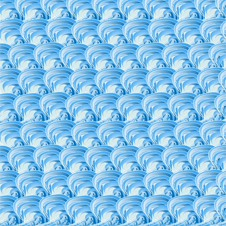 seamless Blue Wave background  photo