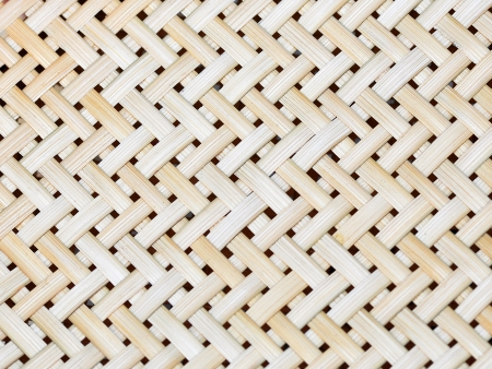 Bamboo handicraft detail photo