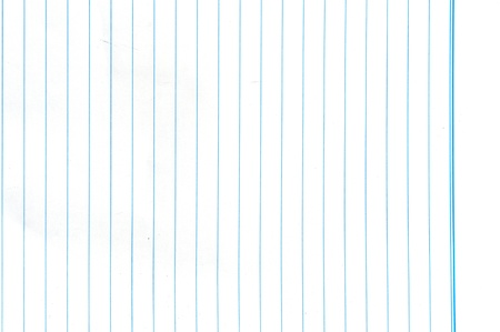Blue lined paper texture background photo