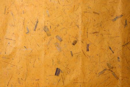 papier naturel: Brown texture du papier naturel � base de bananier