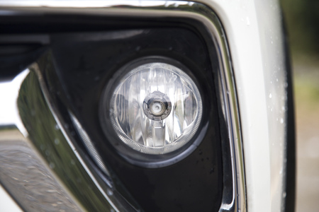 Car fog light Stock Photo