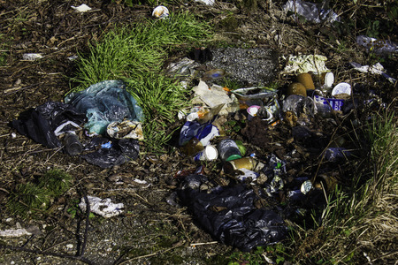landfill site: waste