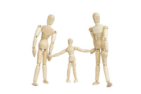 idealized: family Stock Photo