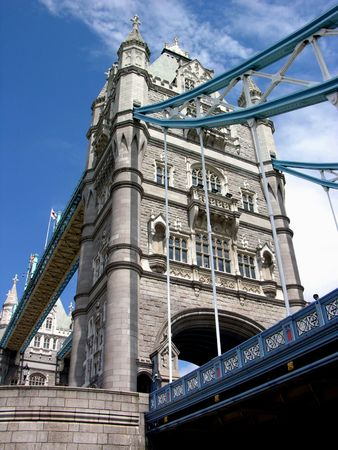 Tower Bridge by day, London Stock Photo