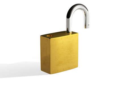 unlocked: Unlock Stock Photo