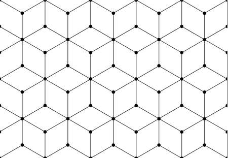 patrón de cuadrícula de red
