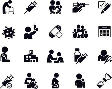 Immunization Icons
