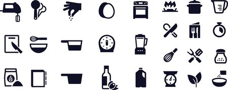 Recipe and Ingredients Icons