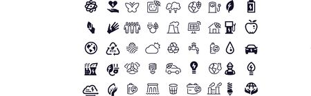 Energy icons vector design