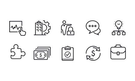 Business ICONS vector design