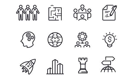 Business icons vector design Illustration