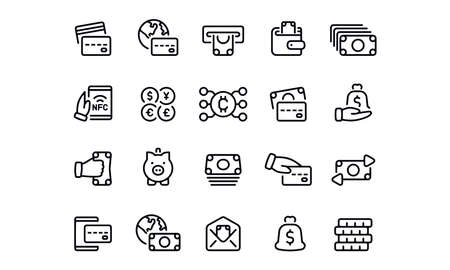 Finance Icons vector design