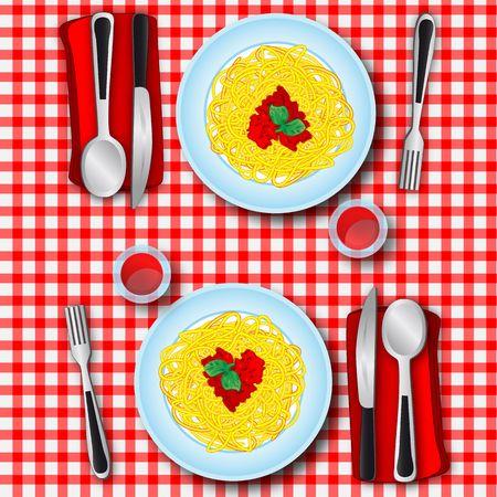 Loves spaghetti photo