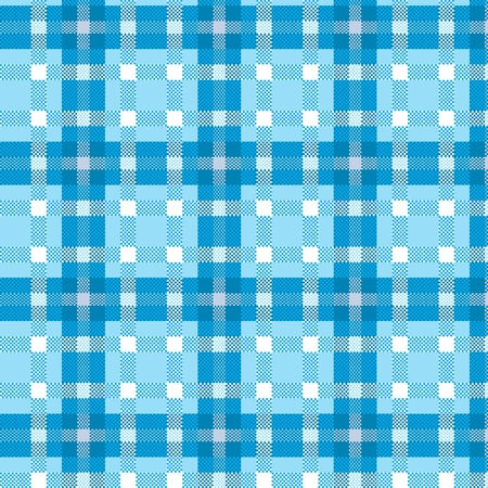 Tablecloth tartan pattern Stock Vector - 9680094