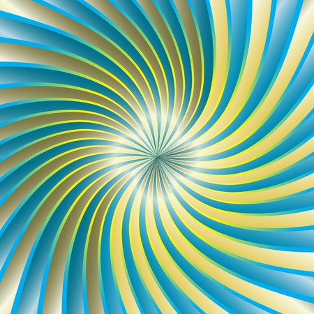 hypnose: Spiral Vortex Illustration