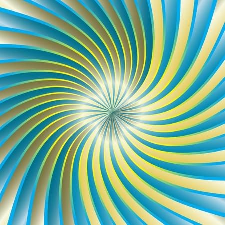 hypnose: Spiral Vortex Illustration