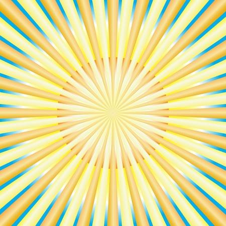 hypnose: Abstract sun rays