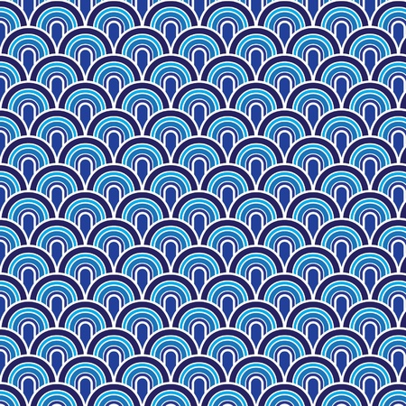 Seamless retrò vector pattern Vector