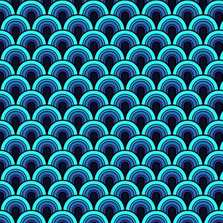 modular: Seamless retrò vector pattern