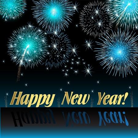frohes neues jahr: Glückliches neues Jahr