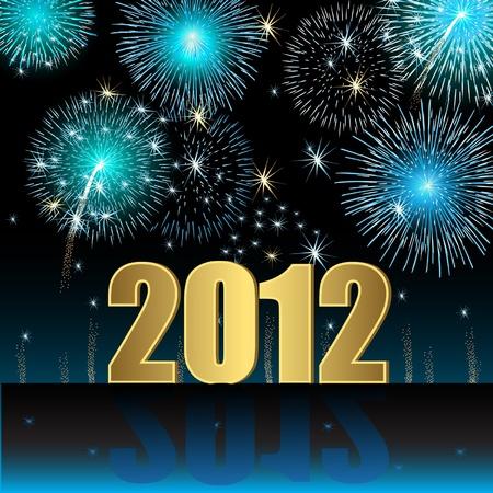 fireworks 'hope fireworks: Happy New Year 2012