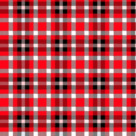 Tablecloth tartan pattern Stock Vector - 10272977