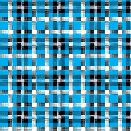 Tablecloth tartan pattern