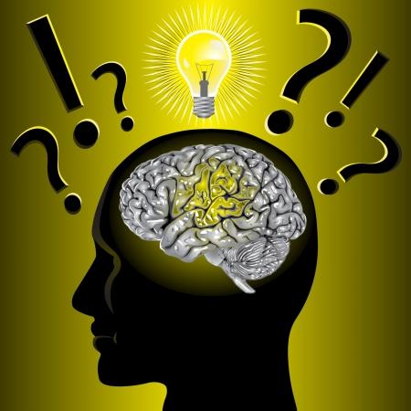 Brain idee en het oplossen van problemen