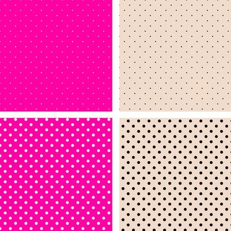 원활한 패턴의 관심 장소 핑크