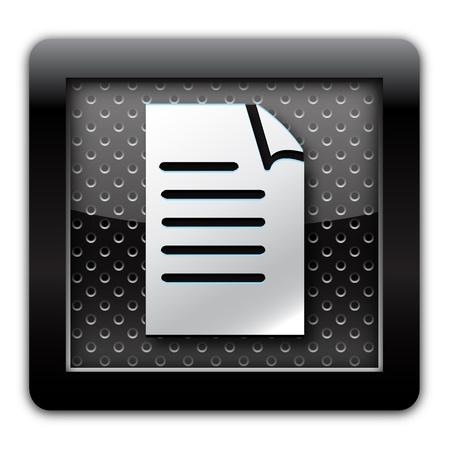 lyrics: Document metal icon