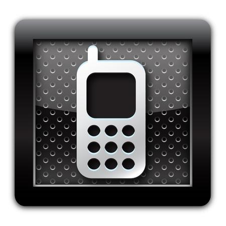 Cellular metal icon Stock Photo - 10791964
